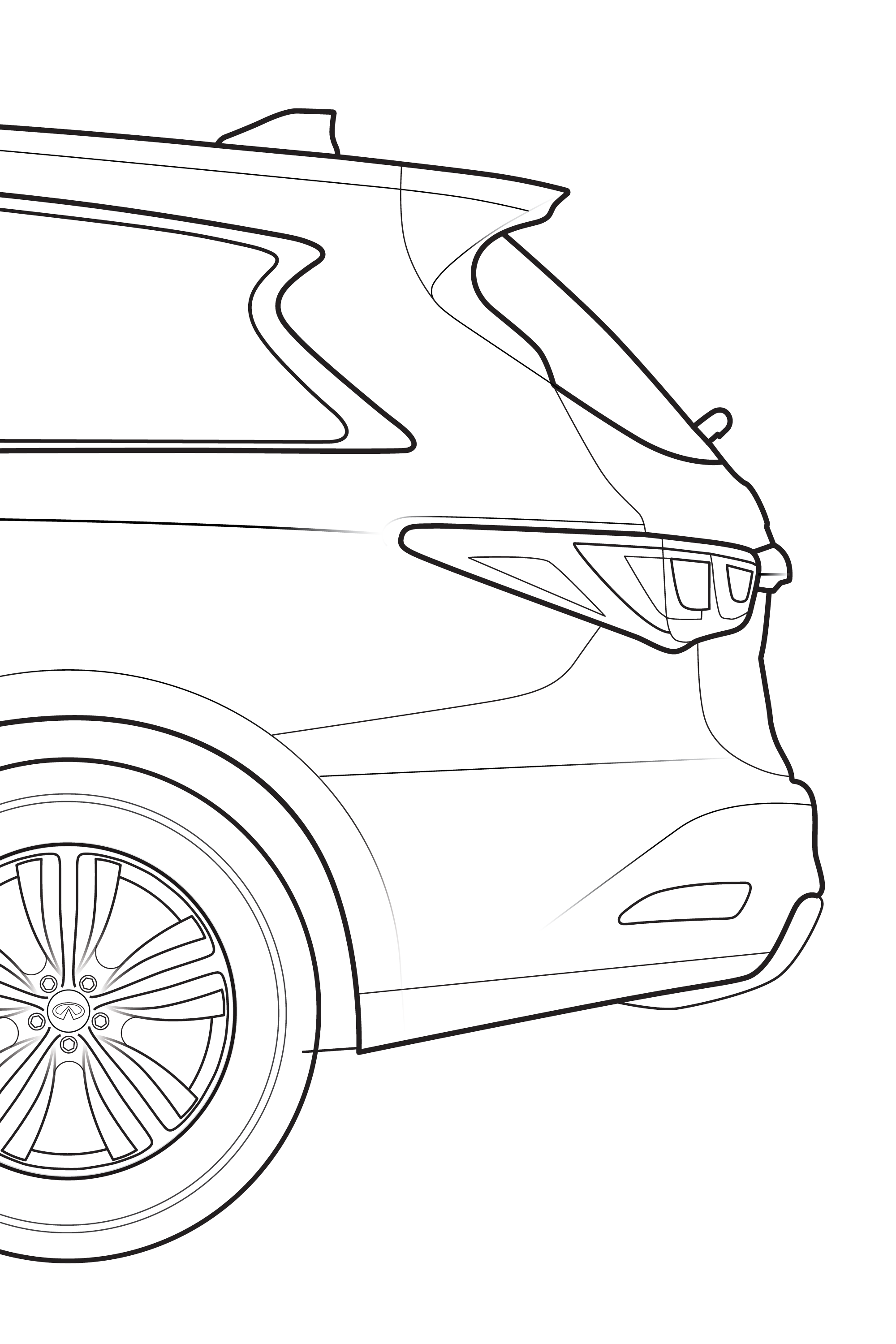 Infiniti blueprint nicholas sickelton in addition each line drawing was turned into a cad work to use to produce 3d renderings of each vehicle malvernweather Image collections